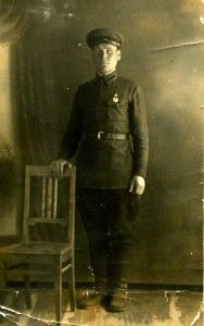 Лазуткин Григорий Федулович. Фото 1939 года