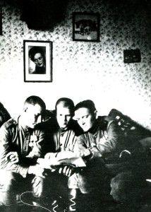 Рощик Иван Андронович. На фотографии справа