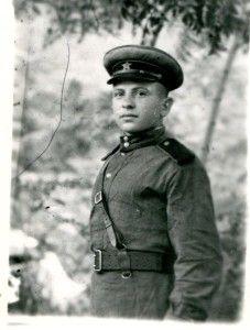 Бубнов М. П. Фотография военных лет