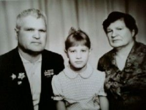 Бабушкин В. С. с семьей